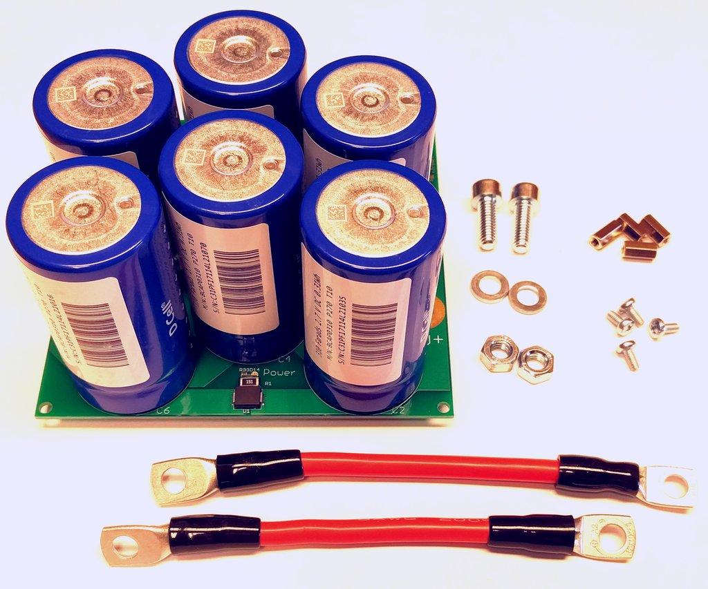 kCap ultracapacitor module